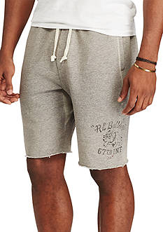 Polo Ralph Lauren Big & Tall Cotton-Blend Graphic Shorts