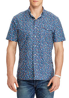 Polo Ralph Lauren Big & Tall Floral Cotton Oxford Shirt