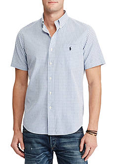 Polo Ralph Lauren Big and Tall Short-Sleeve Seersucker Shirt