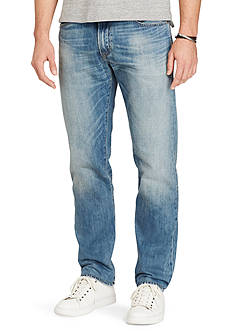 Polo Ralph Lauren Big & Tall Hampton Straight-Fit Jeans