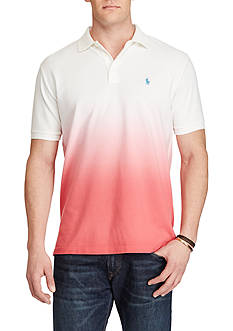 Polo Ralph Lauren Big & Tall Classic Fit Cotton Mesh Polo Shirt
