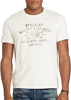 Polo Ralph Lauren Big & Tall Cotton Jersey Graphic T-Shirt