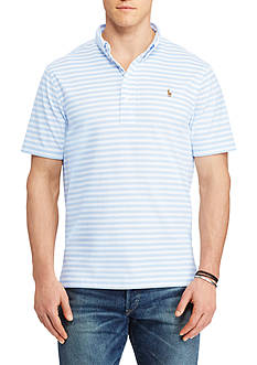 Polo Ralph Lauren Big & Tall Hampton Striped Cotton Shirt