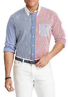 Polo Ralph Lauren Big and Tall Classic Fit Cotton Shirt