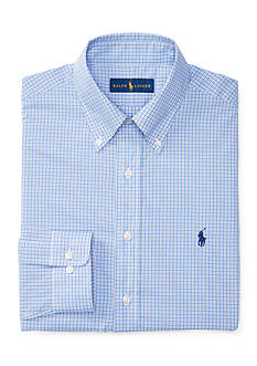 Polo Ralph Lauren Checked Poplin Dress Shirt