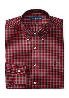 Polo Ralph Lauren Tartan Stretch-Cotton Dress Shirt