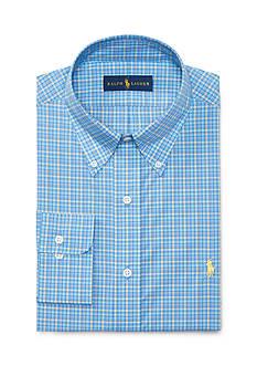 Polo Ralph Lauren Plaid Poplin Dress Shirt