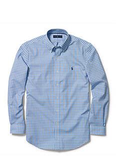 Polo Ralph Lauren Non-Iron Checked Poplin Shirt