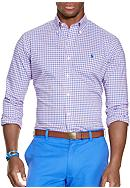 Polo Ralph Lauren Plaid Poplin Sport Shirt