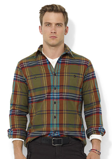 Polo Ralph Lauren Plaid Twill Workshirt
