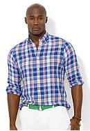 Polo Ralph Lauren Big & Tall Classic-Fit Plaid