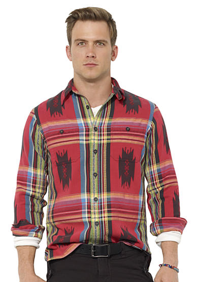 Polo Ralph Lauren Plaid Dobby Workshirt