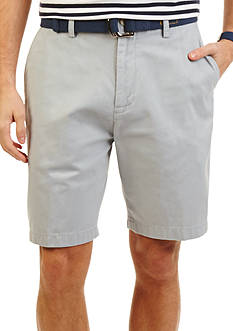 Nautica 8.5 inch Flat-Front Shorts