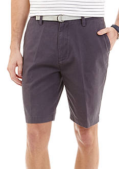 Nautica 8.5-in. Flat-Front Shorts