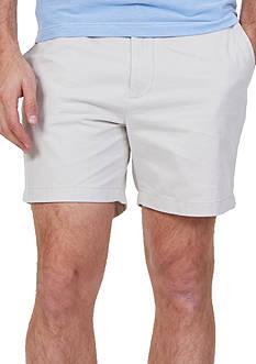 Nautica Shorter Flat Front Shorts