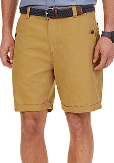 Nautica Modern Fit Flat Front Shorts