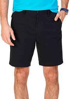 Nautica Classic-Fit Flat Front Deck Shorts