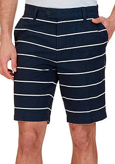 Nautica Slim-Fit Striped Shorts