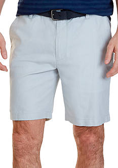 Nautica Classic Fit Cotton-Linen Blend Short