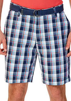 Nautica Classic-Fit Plaid Shorts
