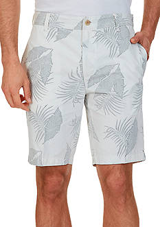Nautica Slim-Fit Leaf Print Shorts
