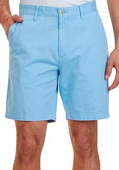 Nautica Big & Tall Flat Front Chino Shorts
