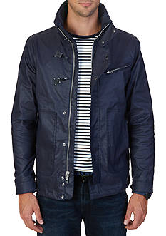 Nautica Water Repellent Hidden Hood Jacket