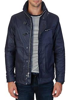Nautica Water Repellent Hidden Hood Jacket
