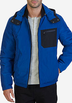 Nautica Reversible Quilted Bomber Jacket