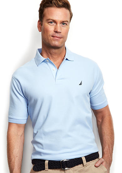 Nautica Anchor Solid Performance Deck Shirt