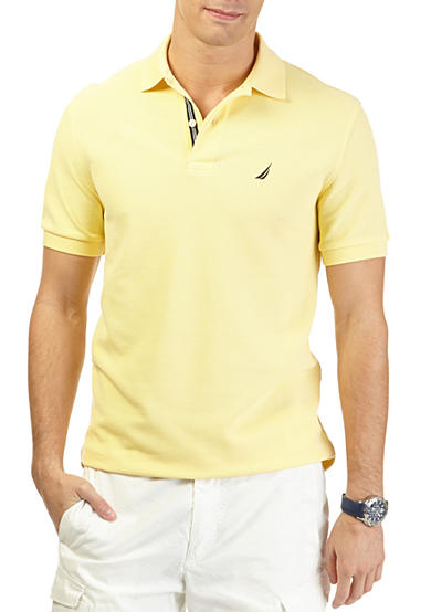 Nautica Short Sleeve Solid Performance Deck Shirt
