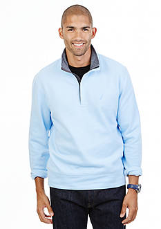 Nautica Fleece Quarter-Zip Sweater