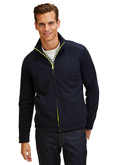 Nautica Mixed Media Full Zip-Up Jacket