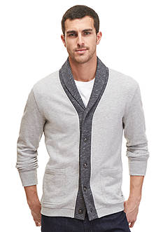 Nautica Textured Shawl Cardigan
