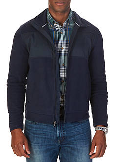 Nautica Slim Fit Zip-Front Fleece Jacket