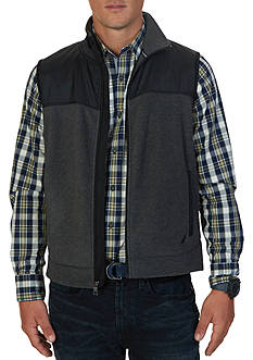 Nautica Slim Fit Fleece Vest