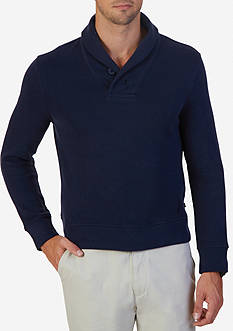 Nautica Shawl Collar Sweater
