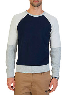 Nautica Slim Fit Color Blocked Sweatshirt