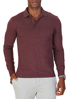 Nautica Slim Fit Long Sleeve Polo Shirt