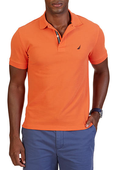 Nautica slim fit solid polo shirt belk for Nautica shirts on sale