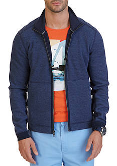 Nautica Classic Fit Zip Front Track Jacket