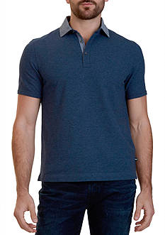 Nautica Classic Fit Stretch Pique Polo Shirt