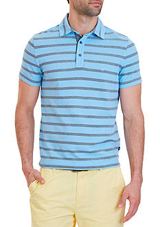 Nautica Slim Fit Striped Polo Shirt