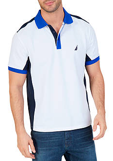 Nautica Classic Fit Heritage Color Block Polo Shirt