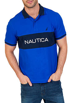 Nautica Classic Fit Heritage Signature Polo Shirt