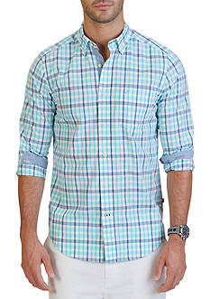 Nautica Big & Tall Bali Plaid Shirt