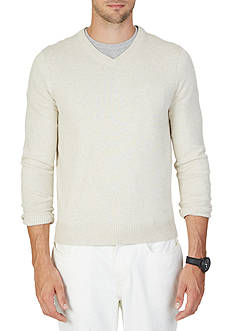 Nautica Big & Tall V-Neck Sweater