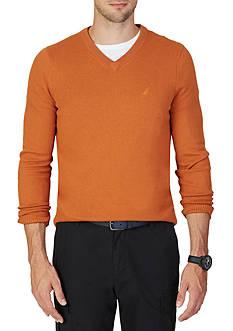 Nautica Big & Tall V-Neck Sweater