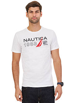 Nautica Big & Tall Signature 1983 Graphic Tee