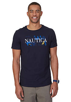 Nautica Big & Tall Signature Graphic Tee